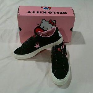 Hello Kitty Converse Sz 11.5